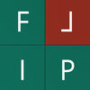 FLIP ^ a brain challenger game app icon