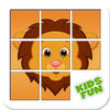 Animal Sliding Puzzle Game For Kids iOS Icon