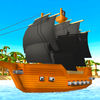 Pixel Pirate Ship Simulator 3D Full iOS Icon