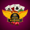 21 Amazing Blackjack app icon