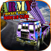 Army Rocket Truck Mountain Climb iOS Icon