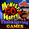 Monkey GO Happy Thanksgiving Games app icon