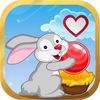 Bunny Bubble:Sweet Valentine's Day 214 app icon