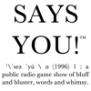 Says You! app icon