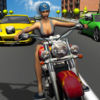 Girl Friend need for Bike Racing app icon