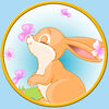 Captivating rabbits for kids no ads iOS Icon