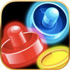 Air Hockey With Glow Rhythm iOS Icon