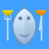 Fish eat chips iOS Icon