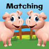 Farm Animal Picture Match app icon