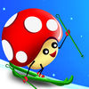 Mushroom Fun Ski Race iOS Icon