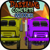 Dazzling Concrete Mixer Racing iOS Icon