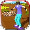 Skate Boarding iOS Icon
