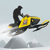 Snowmobile mountain trails hardcore racing app icon