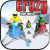 Crazy Snow Mobile Race app icon