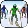 Skiing Race iOS Icon