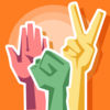 Roshambo Multiplayer : Rock Paper Scissors iOS Icon