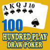 Hundred 100 Play Draw Poker app icon