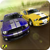 Illegal City Street Car Drag Racing app icon