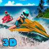Jet Ski Boat Racing 3D app icon