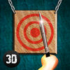 Knife Throwing Master 3D Full app icon