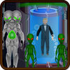 Save President From UFO iOS Icon