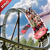 Thrill Winter Roller Coaster Extreme iOS Icon
