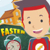 Faster to School Hurry up iOS Icon