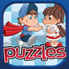 KIDS Puzzles Premium iOS Icon