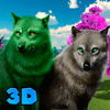 Wild Wolves Clan 3D app icon