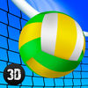 Girls Beach Volleyball Championship 3D Full app icon