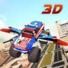 Flying Transformers Truck Driver 3d simulator iOS Icon