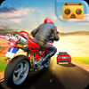 VR Racing Moto Traffic Rider app icon