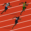 100 Metres Race app icon