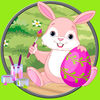 Talented rabbits for children app icon