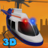 City Police Helicopter Flight Simulator Full app icon