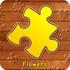 Jigsaw Puzzle Flowers iOS Icon