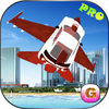 Futuristic F16 Flying Car Pro iOS Icon