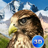 Wild Falcon Survival Simulator 3D Full app icon