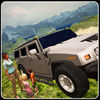 Monster Jeep Mountain Drive Pro app icon