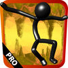 Stick-man Cave Runner Pro iOS Icon