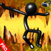 VR-Stick-man Cave Runner Pro app icon