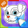 Dog Coloring Book PRO app icon
