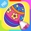 Easter Coloring Pictures PRO app icon