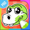 Dinosaur Colouring Games PRO iOS Icon