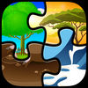 Kids Magic Puzzle iOS Icon