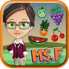 Miss Fingy Tooty Fruity app icon