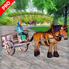 Real Horse Racing: Cart Riding Pro iOS Icon