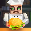 Pixel Burger Simulator 3D Full app icon