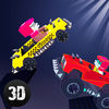 Pixel Car Fighting Arena 3D Full app icon