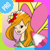 Fairy Pictures to Color PRO app icon
